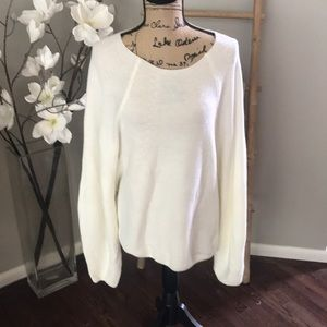 NWT Fate cream sweater